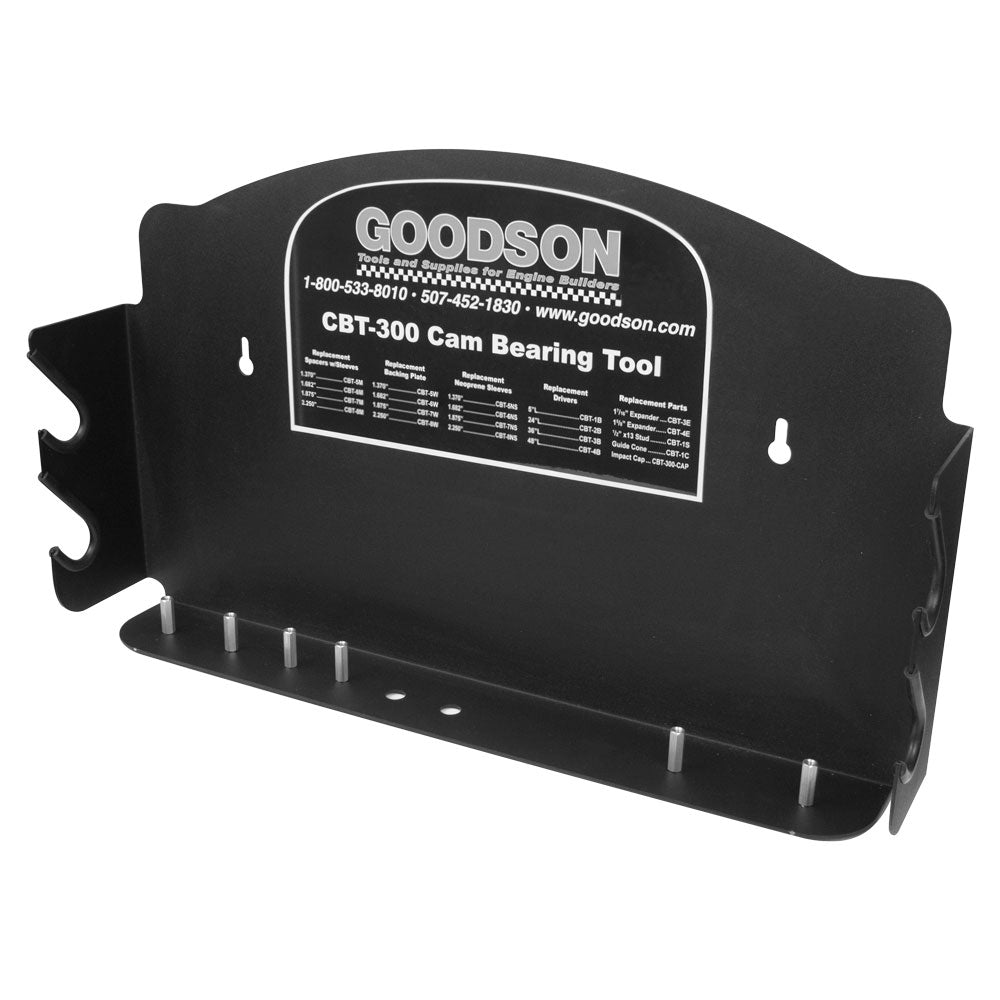 Cam Bearing Tool Wall Rack from Goodson Order No. CBT-300-WR