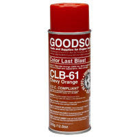 CLB-61 : Chevy Orange Last Blast Spray Paint : GOODSON