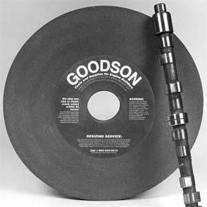 "GCC : 18"" Diameter Camshaft Grinding Wheels"