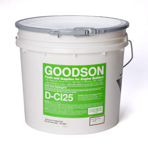 D-CI25 : Concentrated Hot Tank Detergent : GOODSON