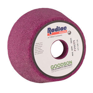 Radiac Medium Soft Flywheel Grinding Stone from Goodson