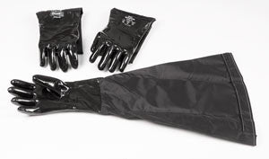 "GB-663-G : Pair + Glass Bead Gloves for 8"" Port"