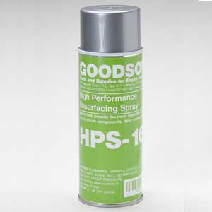 HPS-16 : High Performance Resurfacing Spray : GOODSON