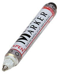 MM-050 : White Metal Marker