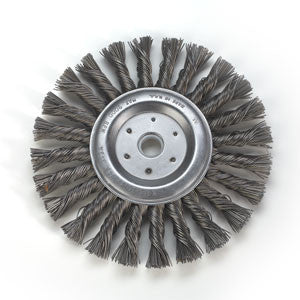 QTC-6 : 6in. x 7/16in. Ultra Duty Wire Wheel