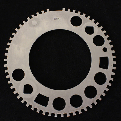 RR-58T : Factory Style GM Steel 58 Tooth Reluctor Ring