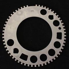 Factory Style GM Steel 58 Tooth Reluctor Ring