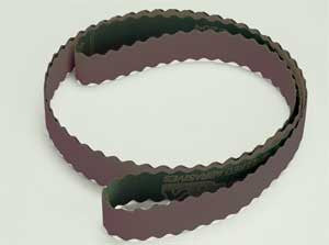 320 Grit Scalloped Edge Polishing Belts