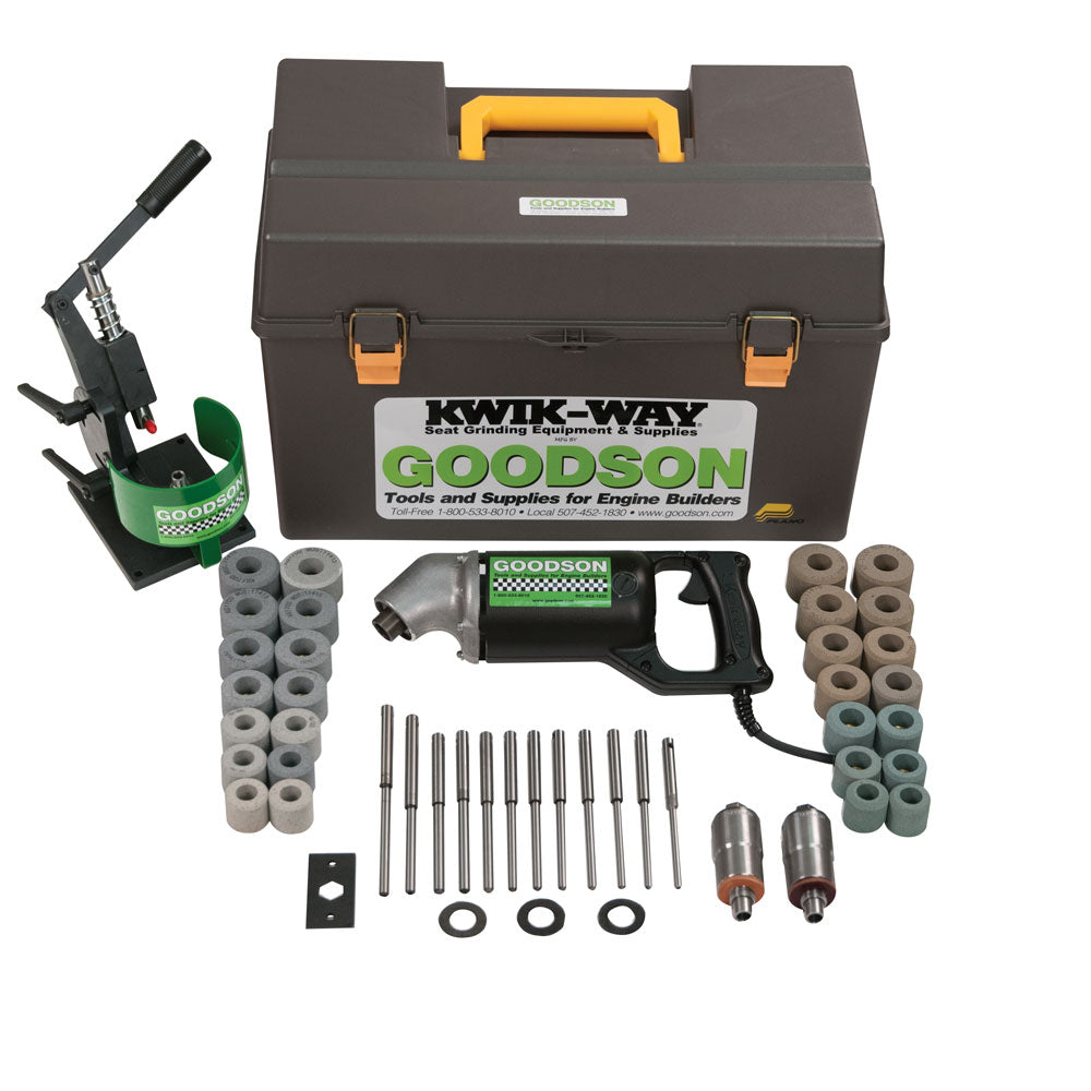 110V Hex Drive Valve Seat Grinding Kit - Kiwk-Way by Goodson