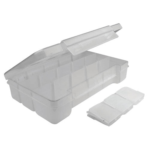 SO-139 | Clear Plastic Storage Case With Customizable Compartments