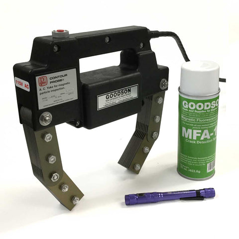 FCD-HP-KIT | Fluorescent High Performance Magnetic Crack Detection Kit | NEW Contents