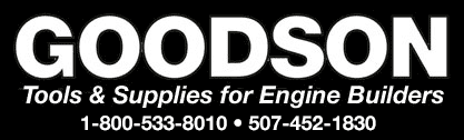 Goodson Tools & Supplies for Engine Builders