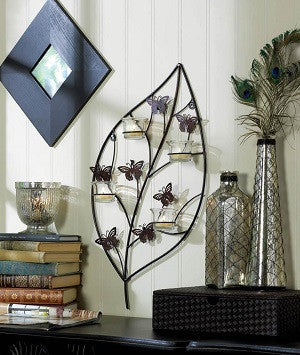 Bouncy Butterfly Candle Sconce