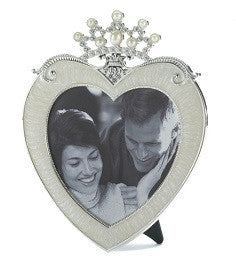Heart Crown Frame 5x5