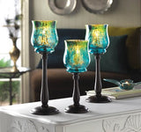 Splash Candleholder Trio