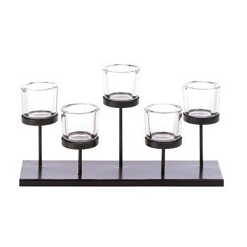 Staggered Candleholder