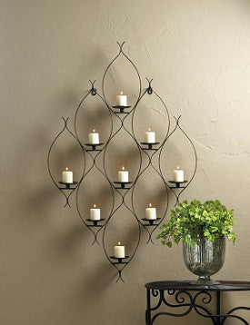 Ambit Wall Decor Candleholder