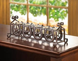 Horseshoes And Stars Candleholder