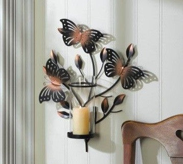 Bouncy Butterfly Wall Sconce