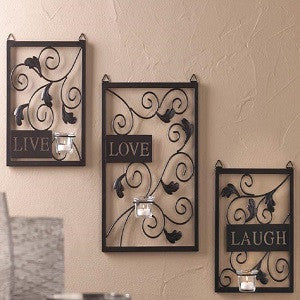 Live Love Laugh Wall Decor