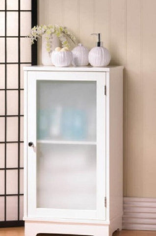 Aspen Frosted Floor Cabinet
