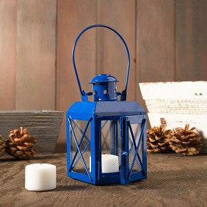 Railway Candle Lamp -Blue