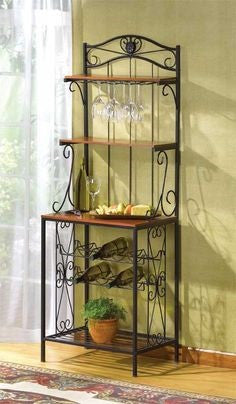 Baker's Style glass Holder Rack