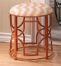 Chic Chevron Stool