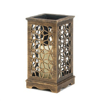 Floral Cutout LED Candle Stand