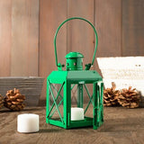 Railway Candle Lamp Green