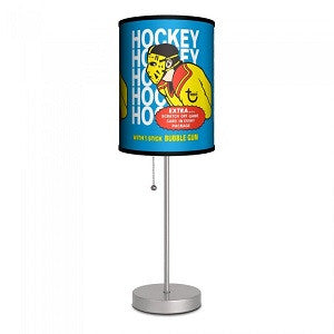 Hockey Gum Wrapper 1974 Lamp