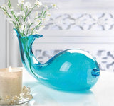 Art Glass Whale Vase
