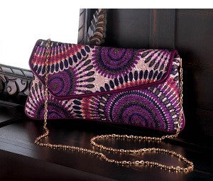 Radiant Orchid Mix Clutch