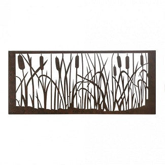 Cattail Marsh Wall Art
