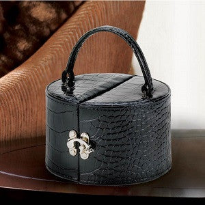Stylish Black Jewelry Box