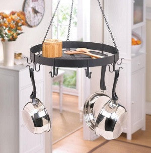 Circular Hanging Pot Rack