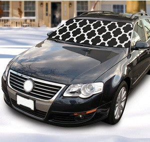 Winter Windshield Cover-Black