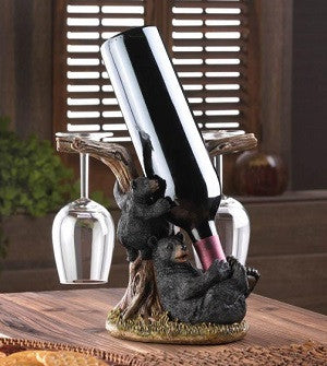 Black Bear Bottle Holder