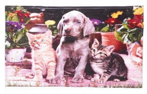 Dogs & Cats Floor Mat