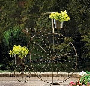 A Old Fashioned Bicycle Plant Stand