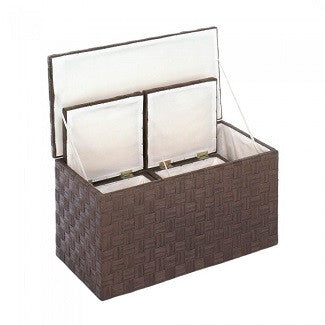 Woven Nesting Storage Trunks Trio
