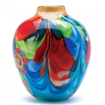 Amazing Hand Crafted Floral Fantasia  Vase