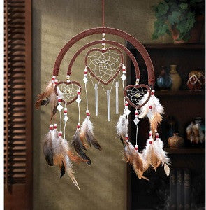 Dream catcher Heart Wind Chimes