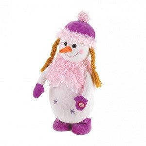 Dancing Snow girl Plush