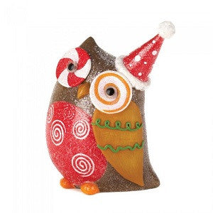 Sparkly Holiday Owl