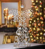 Beaded Angel Decor 18 Inch Tall