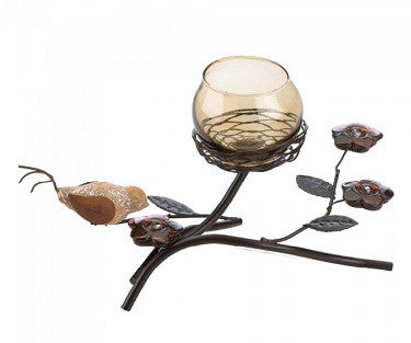 Bird Nest Tealight Holder