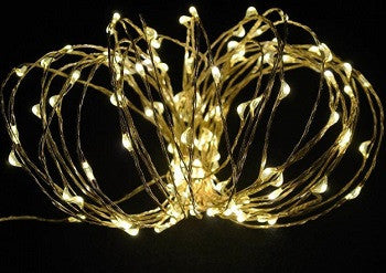 30 LED Copper String Light-Warm White