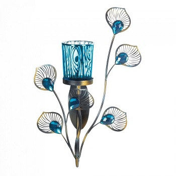 Inspired Peacock Single Sconce