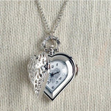 Heart Timepiece Necklace